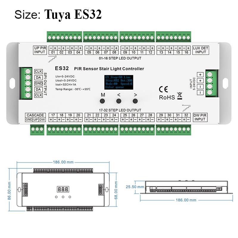 Tuya ES32- Detail 1