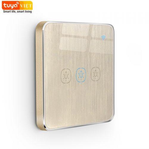 Tuya SW01-UK-3G-Brushed Gold
