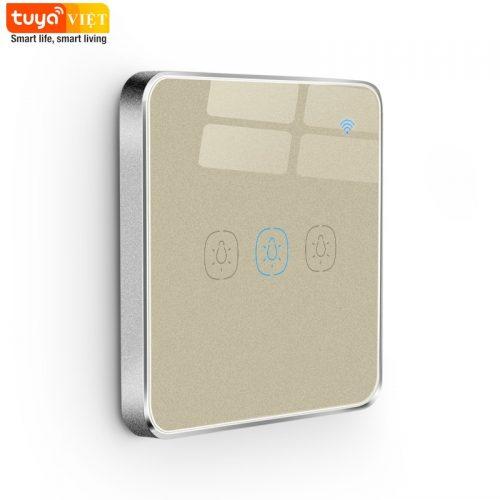 Tuya SW01-UK-3G-Brushed Gold-2